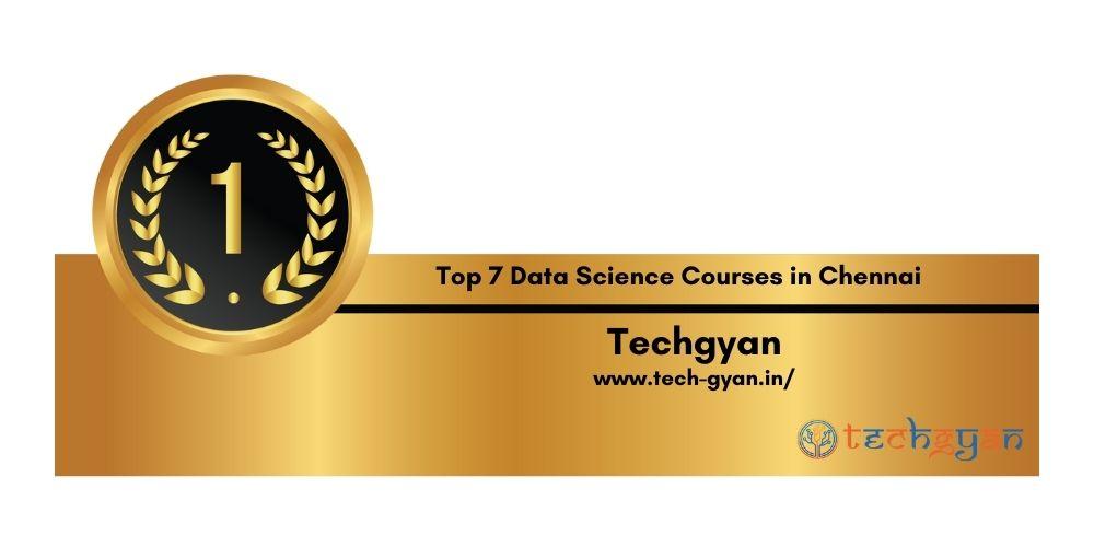 Rank 1 Data Science Courses in Chennai