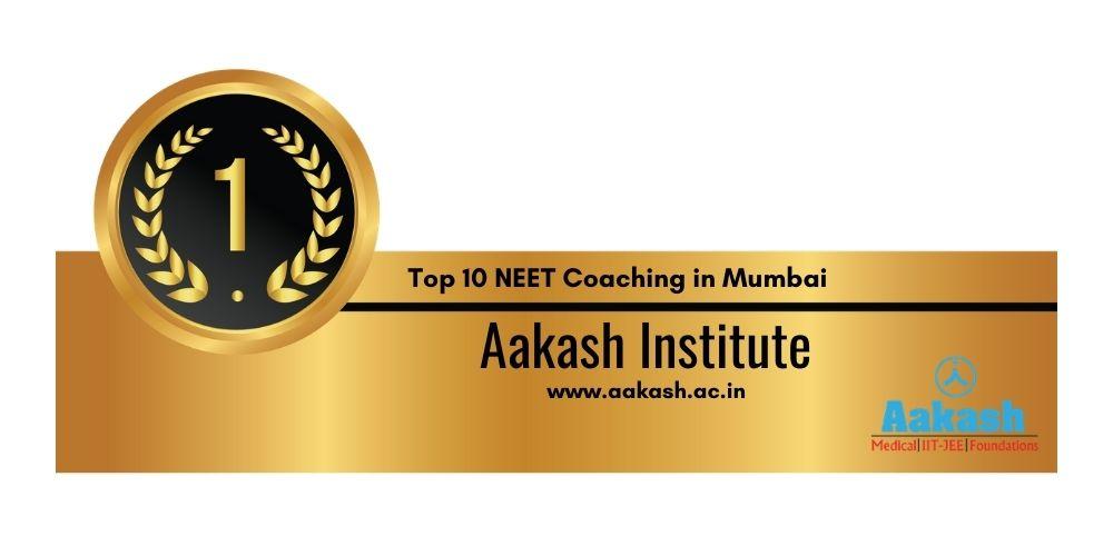 Rank 1 NEET Classes in Mumbai