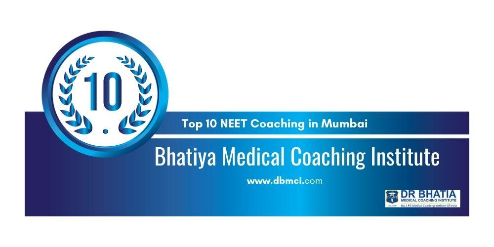 Rank 10 NEET Classes in Mumbai