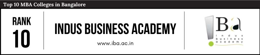 Rank 10 in the List of Top 10 MBA Colleges in Bangalore