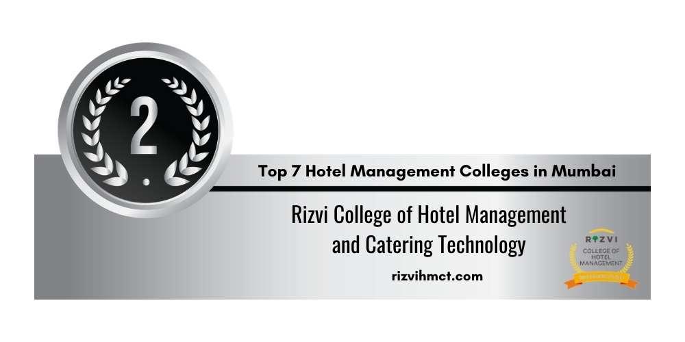 Rank 2 in Hotel Management Colleges in Mumbai