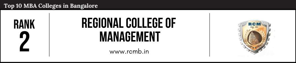 Rank 2 in the List of Top 10 MBA Colleges in Bangalore