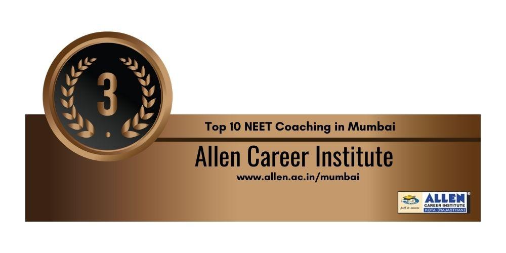 Rank 3 NEET Coaching in Mumbai