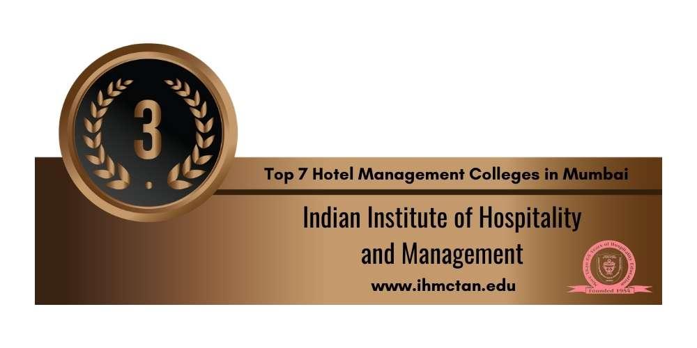 Rank 3 in Hotel Management Colleges in Mumbai