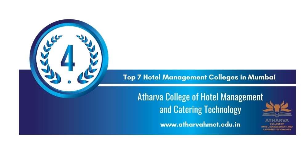 Rank 4 in Hotel Management Colleges in Mumbai