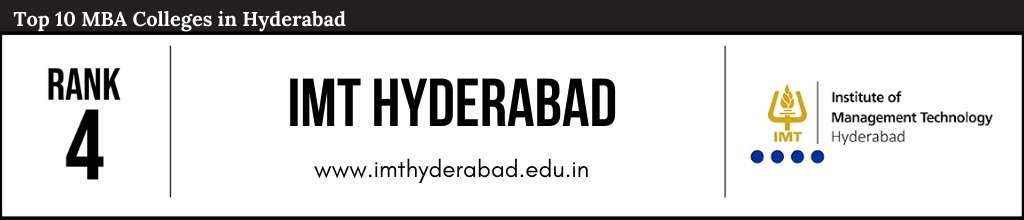 Rank 4 in the List of Top 10 MBA Colleges in Hyderabad