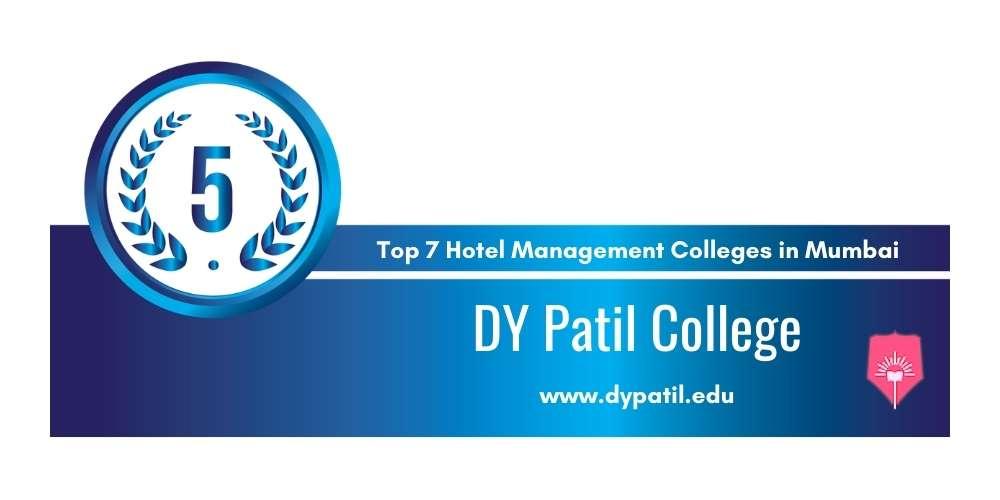 Rank 5 in Hotel Management Colleges in Mumbai