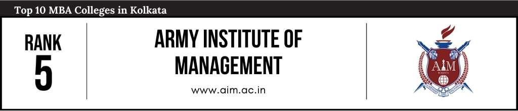 Rank 5 in the List of Top MBA Colleges in Kolkata