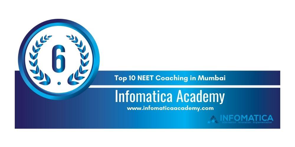 Rank 6 NEET Classes in Mumbai