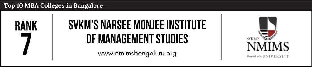 Rank 7 in the List of Top 10 MBA Colleges in Bangalore