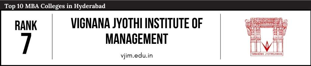Rank 7 in the List of Top 10 MBA Colleges in Hyderabad