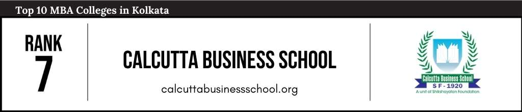Rank 7 in the List of Top MBA Colleges in Kolkata