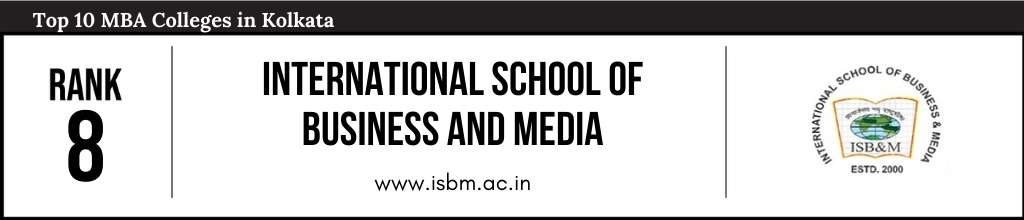 Rank 8 in the List of Top MBA Colleges in Kolkata
