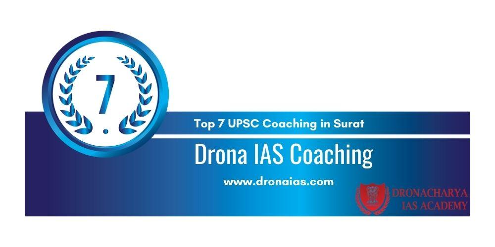Top 7 IAS Academy in Surat Rank 7