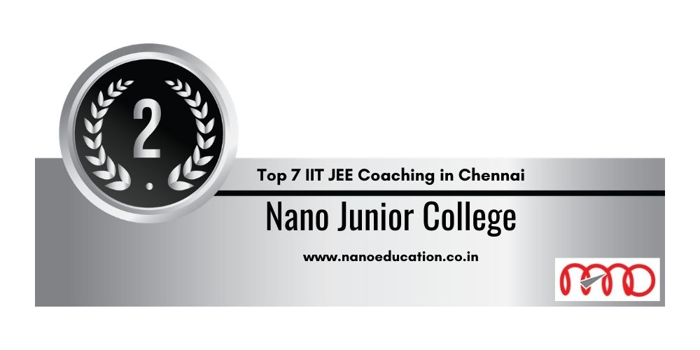 coaching for IIT JEE in Chennai 2