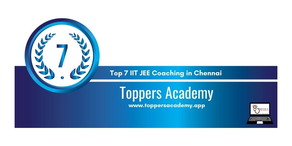 coaching for IIT JEE in Chennai 7