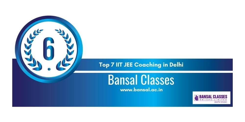 IIT JEE Coaching in Delhi 6