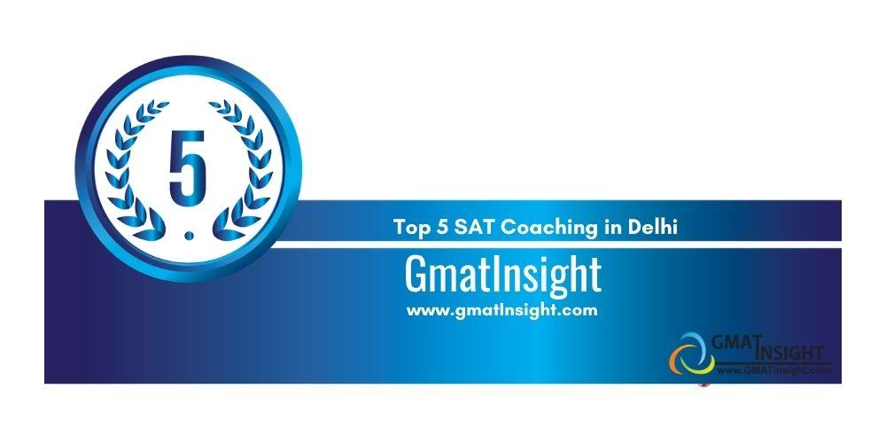 SAT Coaching in Delhi Rank 5