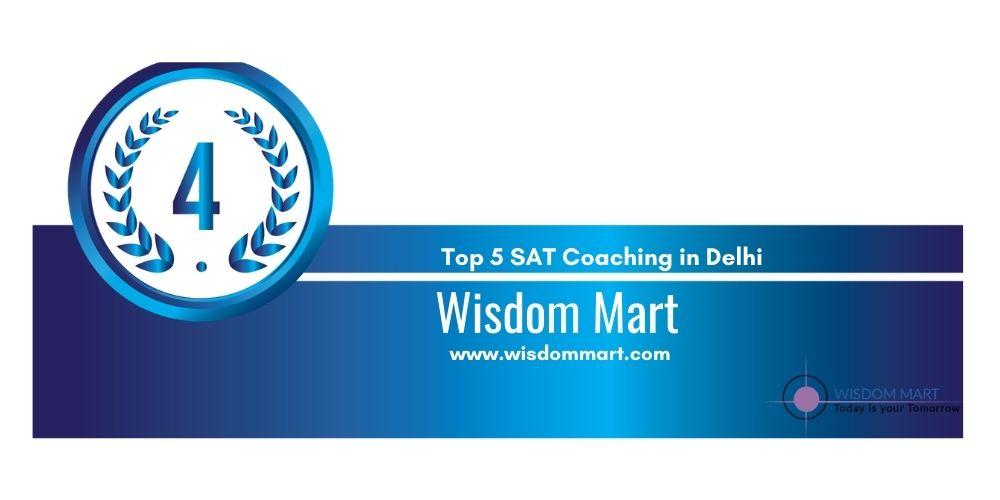 SAT Coaching in Delhi Rank 4