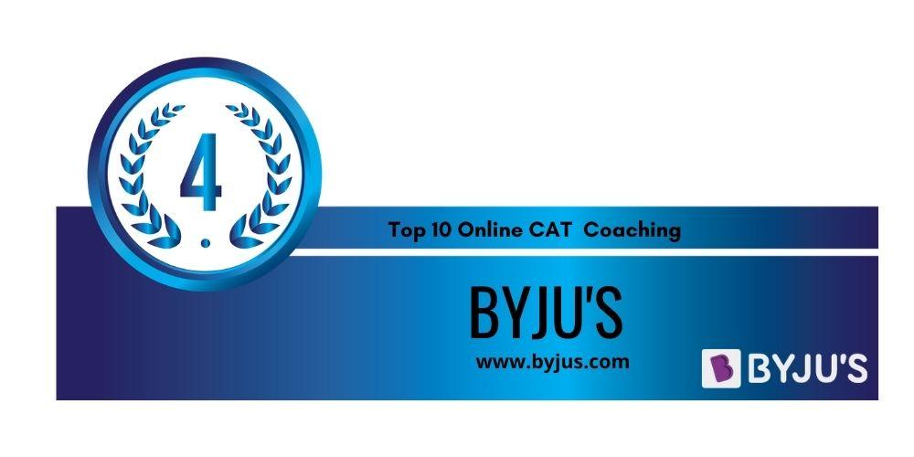RANK- 4 CAT Online Coaching
