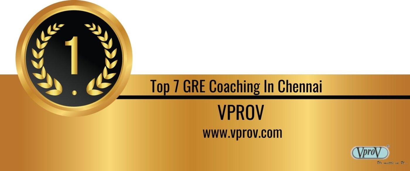Rank 1 Best GRE Coaching in Chennai