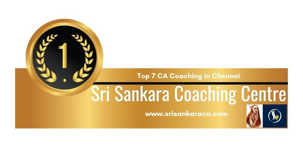 Rank 1 in Top 7 Ca Coaching in Chennai