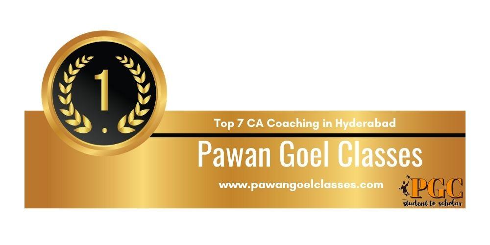 Rank 1 in Ca Coaching in Hyderabad