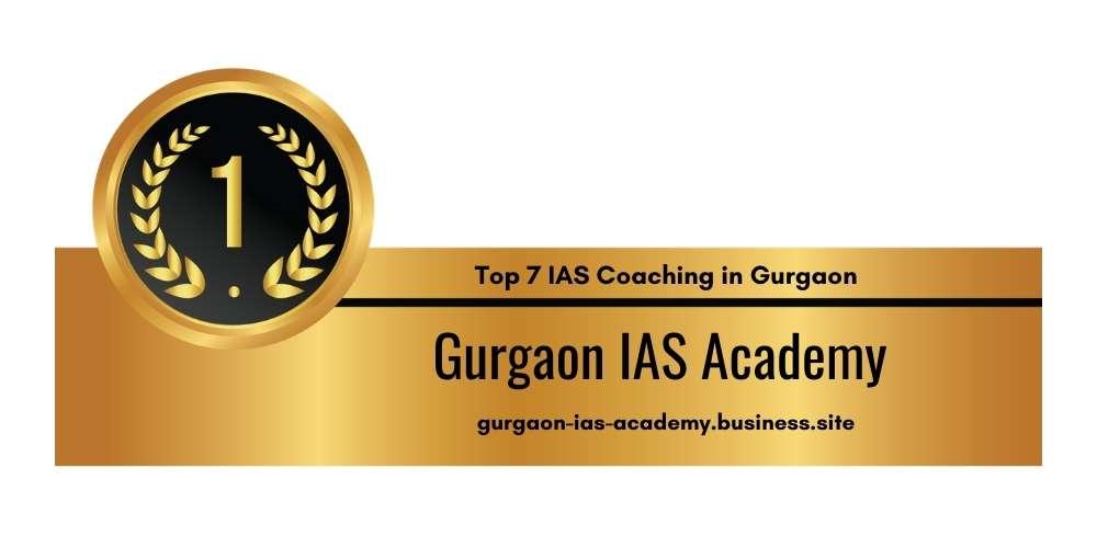 Rank 1 in IAS Coaching in Gurgaon
