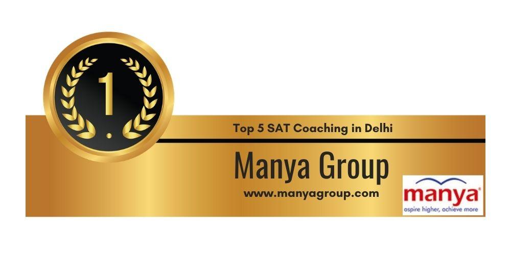 Rank 1 in Top 5 SAT Coaching in Delhi
