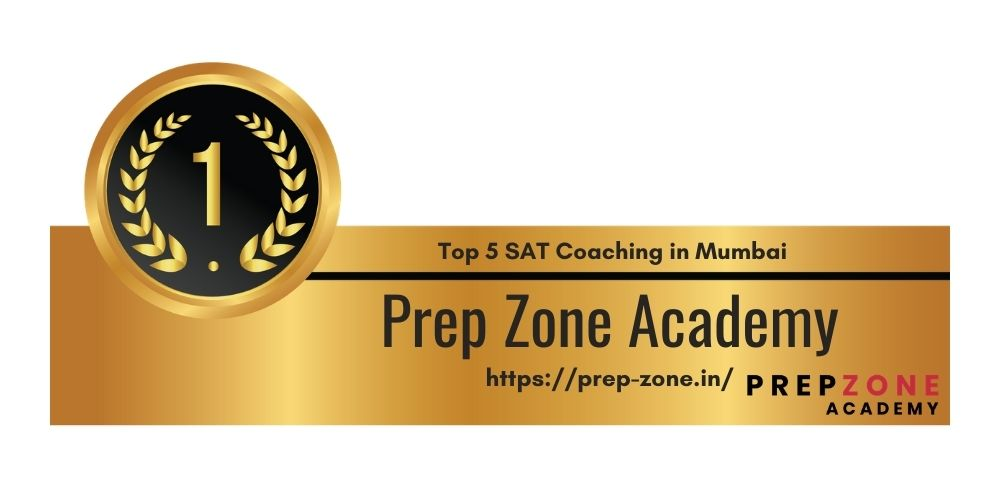 Rank 1 in 5 Best SAT Coaching in Mumbai
