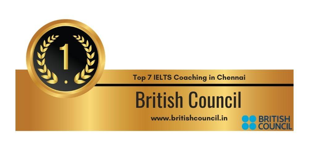 Rank 1 in Top 7 IELTS Coaching in Chennai
