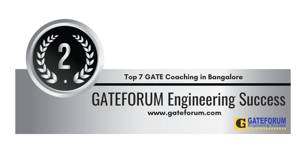 Rank 2 GATE Coaching in Bangalore