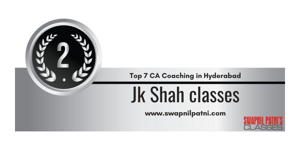 Rank 2 in Ca Coaching in Hyderabad
