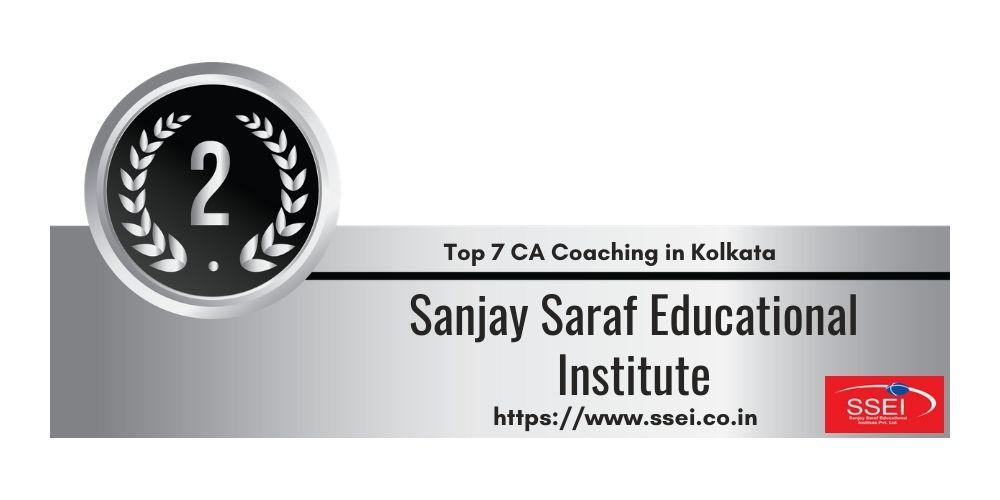 Rank 2 in Ca Coaching in Kolkata