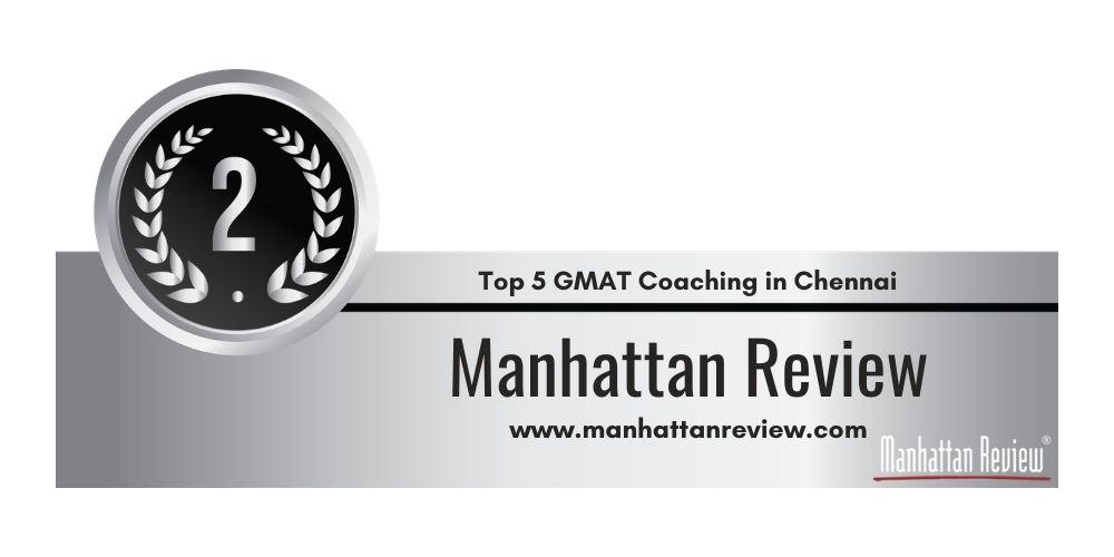 Rank 2 in Top 5 GMAT Coaching in Chennai