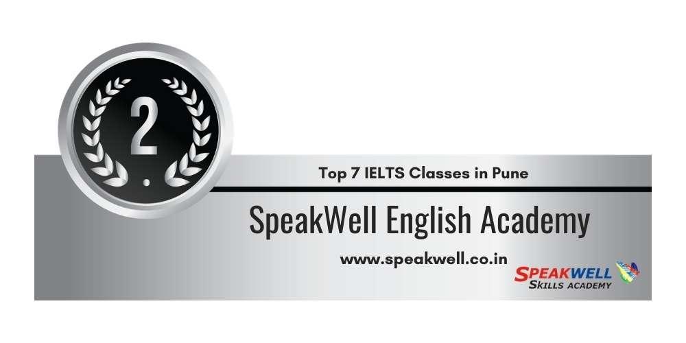 Rank 2 in Top 7 IELTS Classes in Pune.