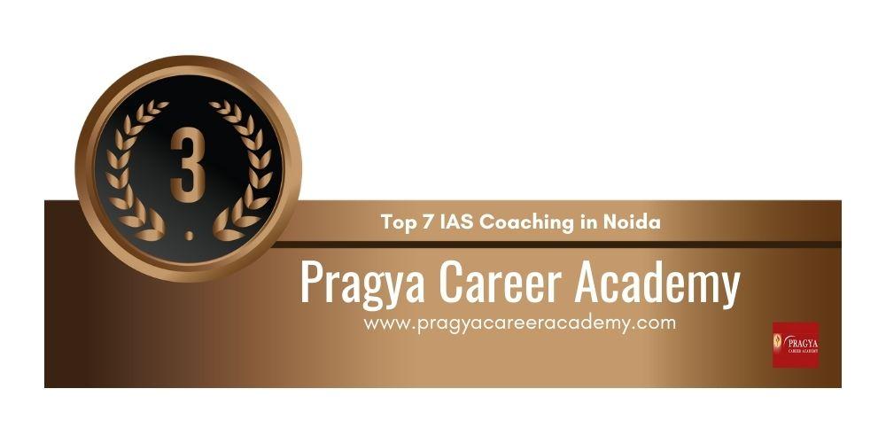Rank 3 IAS Coaching in Noida