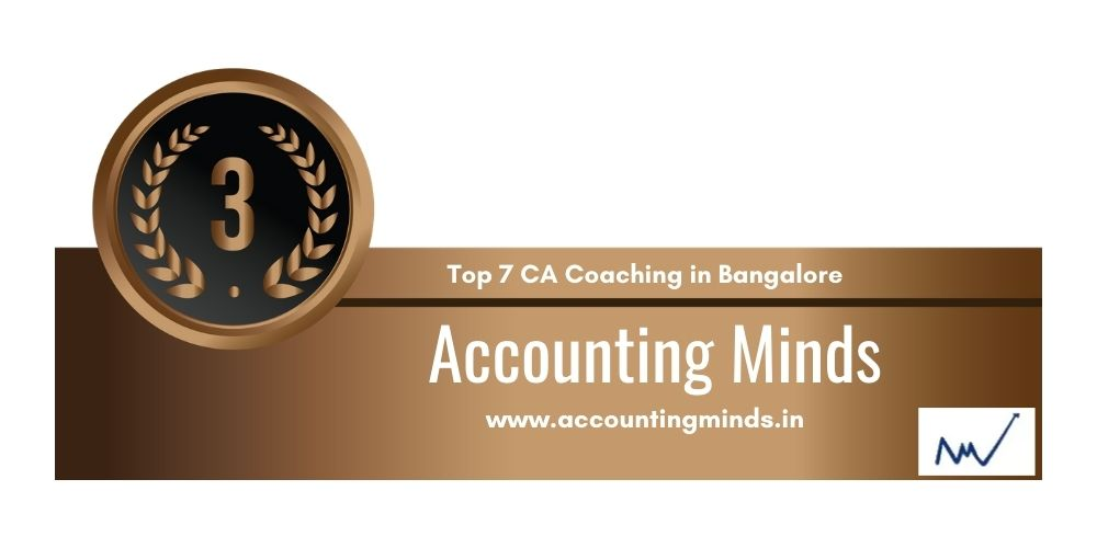 Rank 3 in Ca Coaching in Bangalore