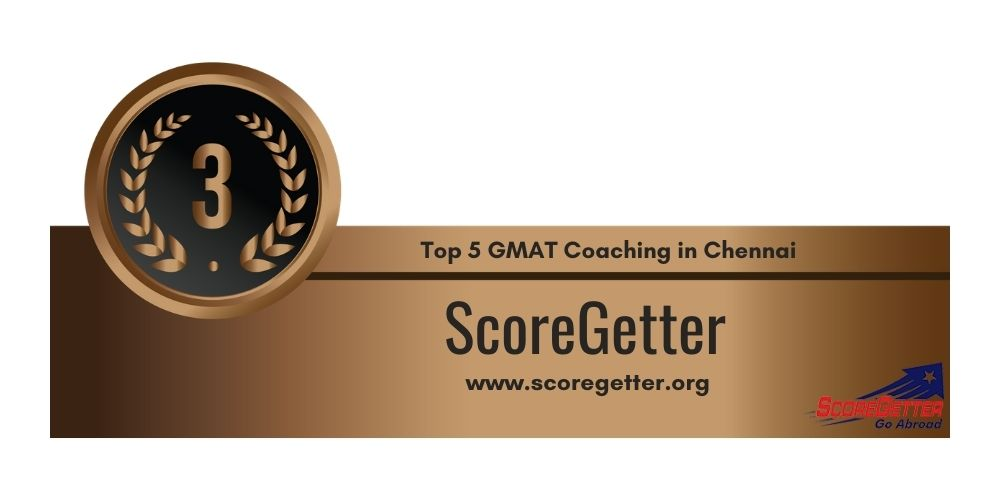 Rank 3 in Top 5 GMAT Coaching in Chennai