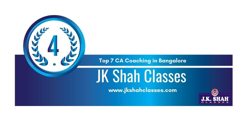 Rank 4 in Ca Coaching in Bangalore