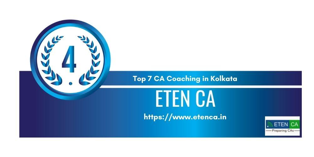 Rank 4 in Ca Coaching in Kolkata