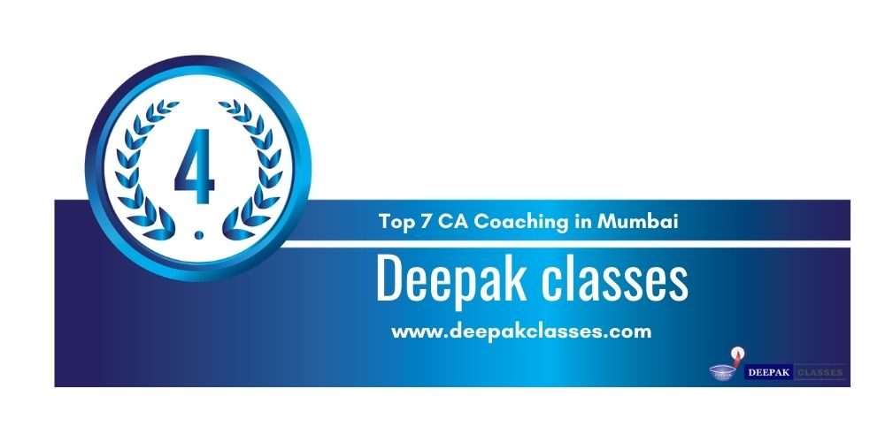 Rank 4 in Ca Coaching in Mumbai