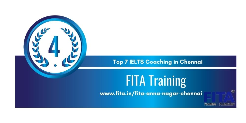 Rank 4 in Top 7 IELTS Coaching in Chennai