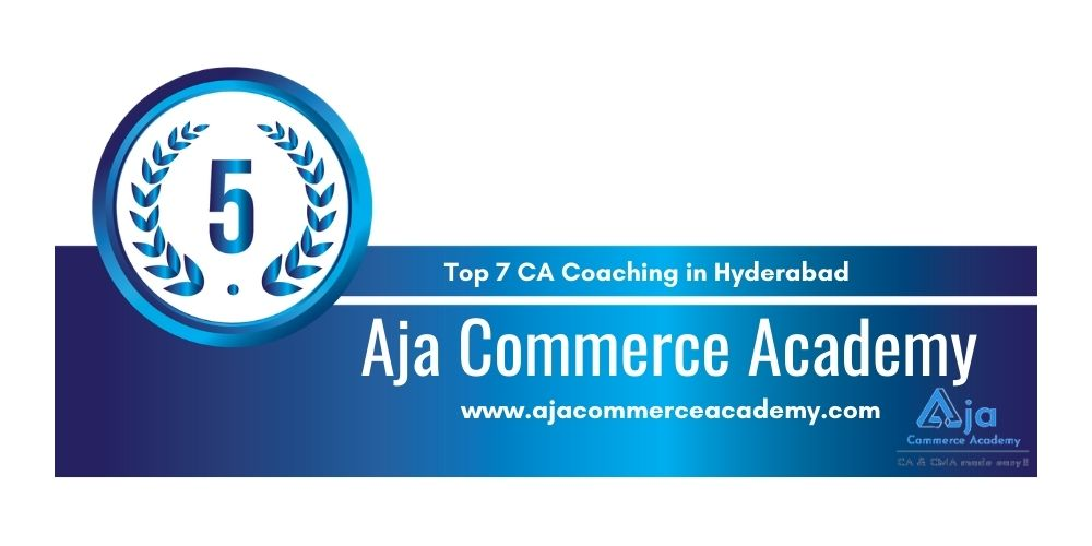 Rank 5 in Ca Coaching in Hyderabad