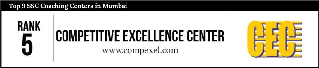 Rank 5 in SSC Coaching Centers in Mumbai