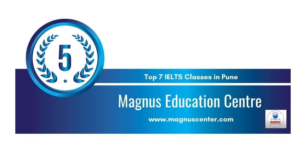 Rank 5 in Top 7 IELTS Classes in Pune.