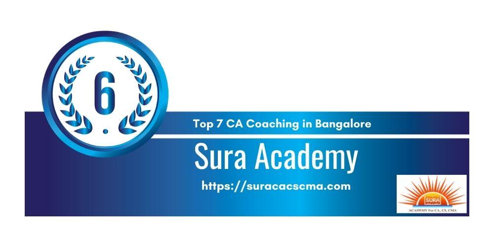 Rank 6 in Ca Coaching in Bangalore
