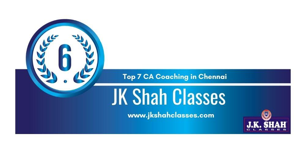Rank 6 in Ca Coaching in Chennai