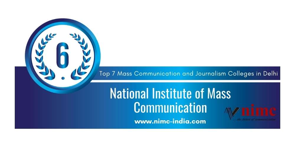 Rank 6 in Mass Communication and Journalism in Delhi