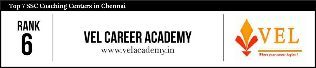 Rank 6 in SSC Coaching Centers in Chennai